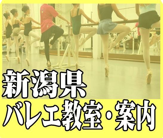 新潟県バレエ教室案内