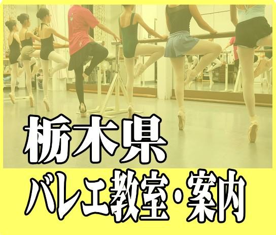 栃木県バレエ教室・案内